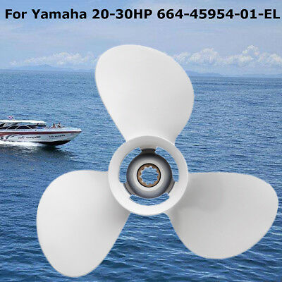 9-7/8 x 12 Aluminum Marine Outboard Propeller For Yamaha 20-30HP 664-45954-01-EL