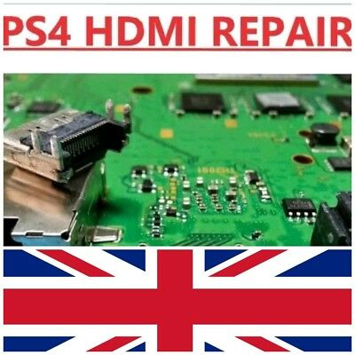 - Repair Service - Sony Playstation 4 Ps4 Hdmi Port Replacement -Same Day Fix-