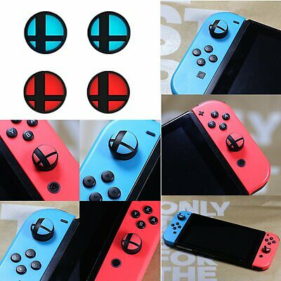 4pcs Silicone Analog Thumb Grip Cap Protective Cover for Nintendo Switch NS New