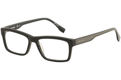e35cc7e76584 Lacoste Women s Eyeglasses L2721 L 2721 001 Black Full Rim Optical Frame  53mm