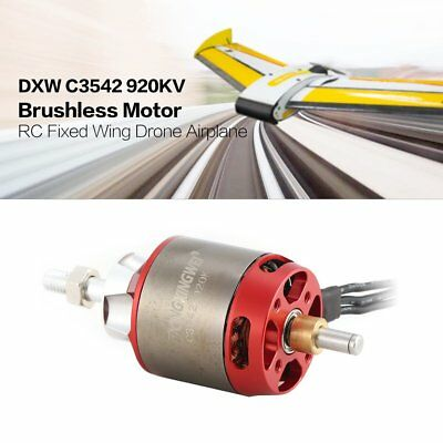 DXW C3542 920KV 2-4S Outrunner Brushless Motor for RC Fixed Wing Airplane