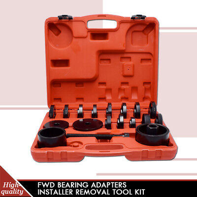 Truck FWD Front Wheel Drive Bearing Removal Adapter Tool Puller Pulley Kits 23pc