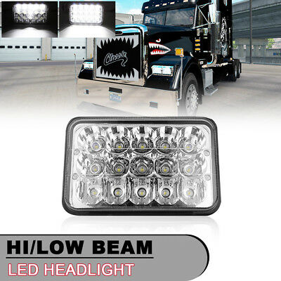 1PC 4X6 Inch DOT LED Headlight Replacement H4651 H4652 H4666 H6545 for GMC Ford