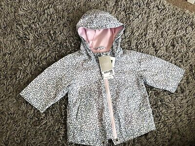 04a5edea9aff NEXT SHOWER RESISTANT Thin Jacket Coat Baby Girl 3-6 Months BNWT ...