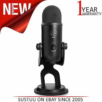 Blue Yeti Professional USB Microphones│For Recording & Streaming│Blackout│NEW