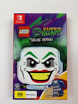 Nintendo Switch LEGO DC Super Villains Deluxe Edition NO DLC AU Retail