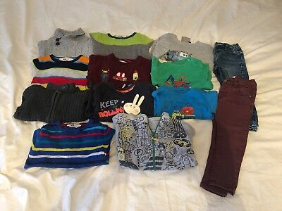 ed97f1fe2efb BOYS CLOTHES 18-24 months bundle of 10 incl joggers, long sleeve ...