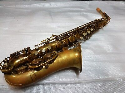 EVETTE SCHAEFFER MASTER MODEL ALTO SAX / ALT SAXOPHONE - made in FRANCE