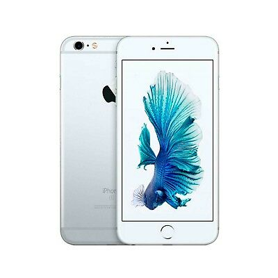 Movil Apple iPhone 6s A1688 64GB Libre Plata Sin Huella Digital | C