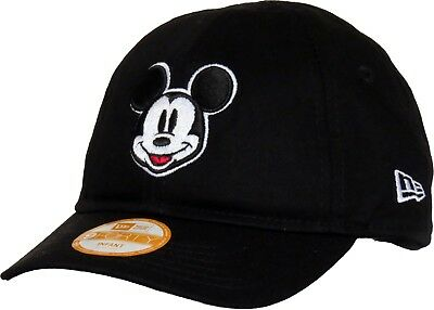 New Era Disney Kids Mickey Mouse 9forty Black Infant Toddler   Child Cap Hat 44da9f22d08