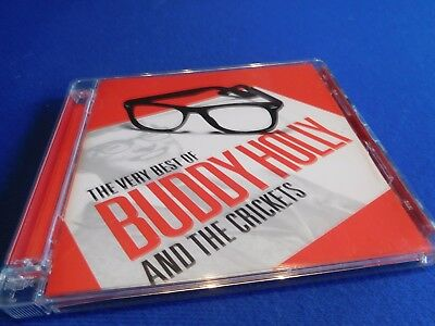 Buddy Holly - The Very Best of Buddy Holly and the Crickets 2cd Very Good