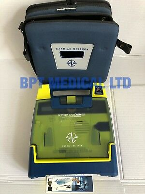 Cardiac Science Powerheart G3 AED Automatic + Case