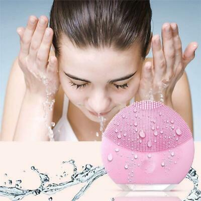 Silicone Facial Cleanser Brush Sonic Electric Waterproof Silicone Face Massager
