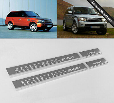 RANGE ROVER SPORT Stainless Steel Sill Protectors / Kick Plates