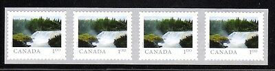 2018 Canada SC# From Far and Wide- strip of 4 from coil of 5000 - C671 M-NH