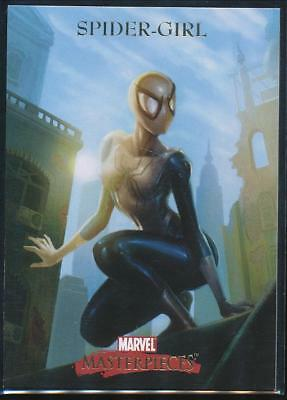 2007 Marvel Masterpieces Trading Card #78 Spider-Girl