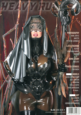 Heavy Rubber Magazine No.38 - Rubber & Latex Fashion