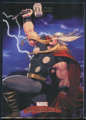 2007 Marvel Masterpieces Trading Card #86 Thor