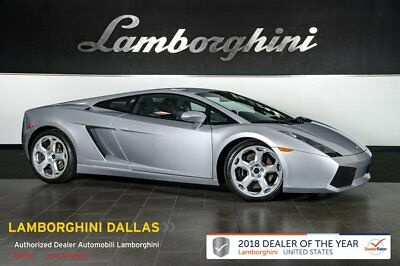 2004 Lamborghini Gallardo  CASSIOPEIA WHEELS+ALCANTARA+HOMELINK+POWER BACK SEATS+E GEAR