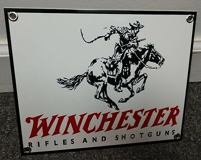 Winchester Gun Pistol Rifle Firearm Sign