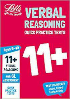 11+ Verbal Reasoning Quick Practice Tests Age 9-10 for the GL Assessment tests (