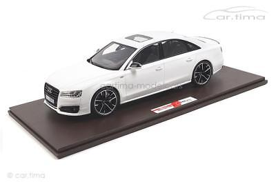 Audi S8 plus - Ibisweiß - 1 of 199 - Motorhelix 1:18 - MH016LW
