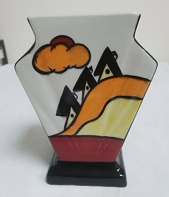Lorna Bailey Somerville Design Art Deco Style Vase – Signed