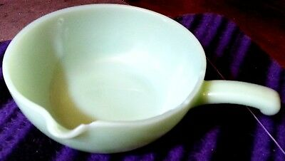 Anchor Hocking Fire King Jade Bowl with Spout