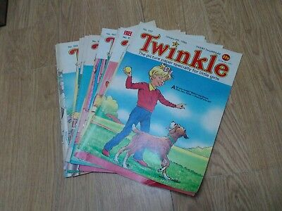 Bundle of 16 Vintage Twinkle Comics 1986