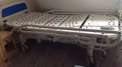 huntleigh nesbit evans Remote Control electric bed With Side Rails & Headboard