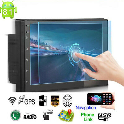 7'' 2DIN Bluetooth Touch Car Stereo Radio MP5/MP3 Player GPS Navigation AM/ FM