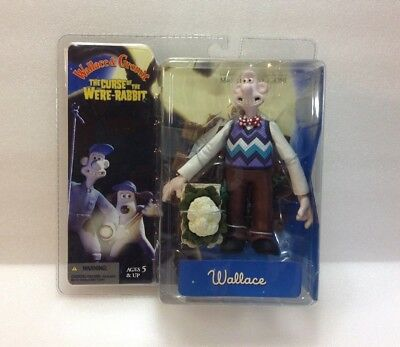 McFarlane Wallace & Gromit The Curse Of The Were-Rabbit-Wallace. NIP