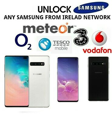 Unlock Code For Samsung Galaxy A10 A20e A40 A50 A70 Vodafone O2 Three Ireland UK