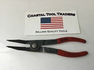Blue Point Tools USA PR-24A External Retaining Snap Ring Pliers #E27