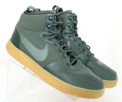 Nike AA0547-300 Court Borough Mid Winter Green Fashion Sneakers Men s US 12 154cda7d39