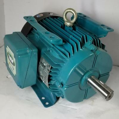 Brook Crompton 3 Hp 3600 Rpm Tefc 200/400/460V 182T 3 Phase Motor Wa2N003-7-114
