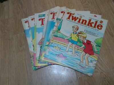 Bundle of 15 Vintage Twinkle Comics 1986