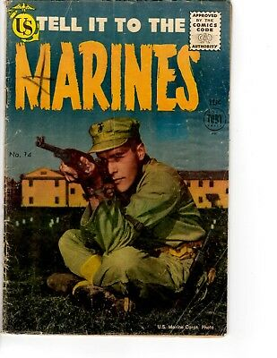 Tell It To The Marines comic #14 Toby Press June 1955