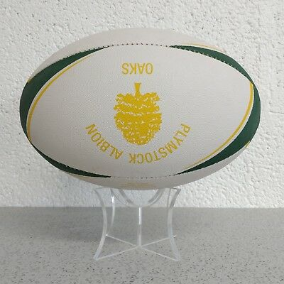 Acrylic Rugby Ball Display Stand Ball Riser | Rugby Ball Holder