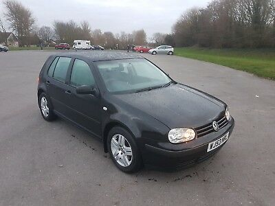 BLACK 2003 VW GOLF MK4 TDI 100BHP 125k 10 months MOT