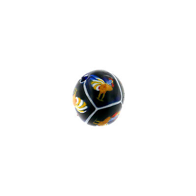 (2370) Glass Bead by Ercole Moretti with Murrine by Ulderico Moretti (1924/1925)