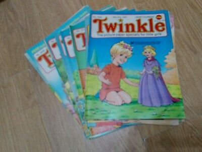 Bundle of 17 Vintage Twinkle Comics 1987