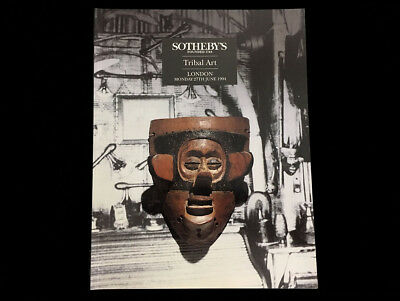 Sotheby's Tribal Art  London 1994  Dogon Luba Hemba Sepik Maori Easter Island