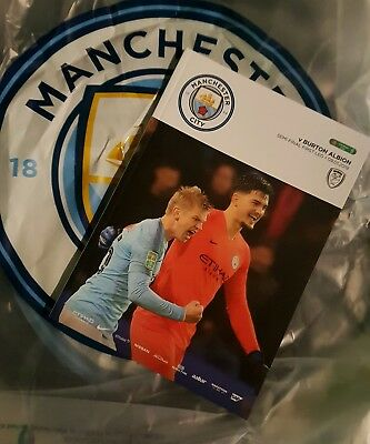 MANCHESTER CITY v BURTON ALBION 9th JAN 2019~CARABAO CUP SEMI~FINAL~inc EXTRA FP