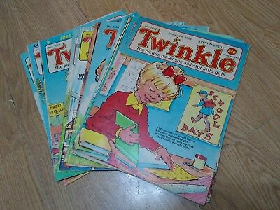 Bundle of 13 Vintage Twinkle Comics 1988