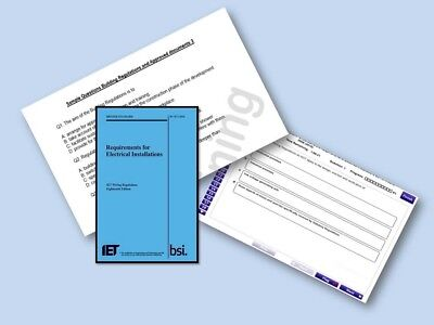 2x New BS7671 18th Edition Wiring Regulations EXAM Papers (PDF) and simulator