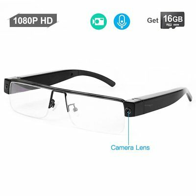 Full HD 1080p gafas oculta espía cámara gafas Video Grabador con Audio