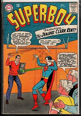 Superboy #122 FN/VF 7.0 DC Silver Age Classic 1965!!!