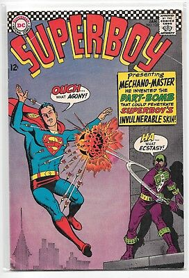 Superboy #135 FN/VF 7.0 DC Classic Silver Age 1967!!!