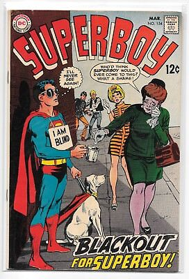 Superboy #154 VG/FN 5.0 DC Classic Silver Age 1968!!!